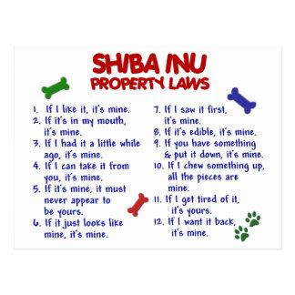 Carte Postale Lois 2 de propriété de SHIBA INU