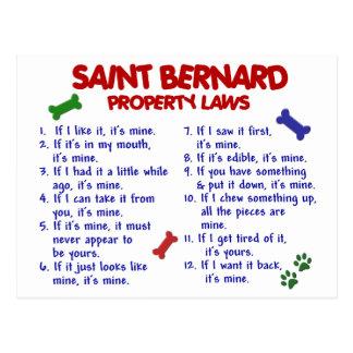 Carte Postale Lois 2 de propriété de ST BERNARD