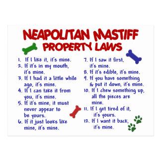 Carte Postale Lois NAPOLITAINES 2 de propriété de MASTIFF