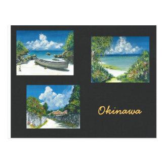 Carte postale l'Okinawa de peinture