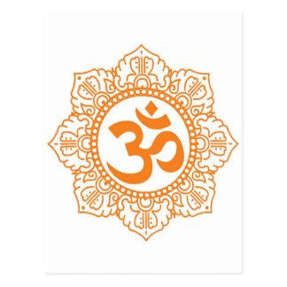 Carte Postale L'OM - Ohm - symbole d'Aum