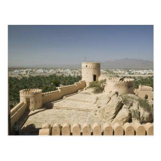 Carte Postale L'Oman, la plaine de Batinah, Nakhal. Fort de