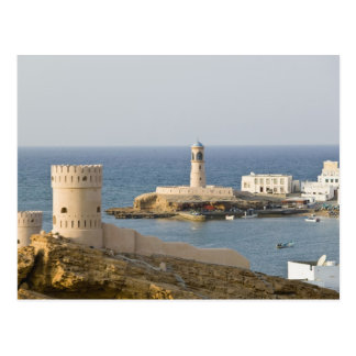 Carte Postale L'Oman, région de Sharqiya, Sur. Tours d'Al Ayajh