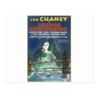 Carte Postale LONDRES APRÈS MINUIT par Philip J. Riley