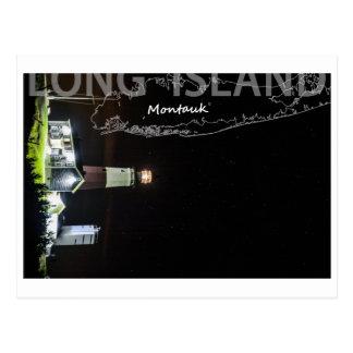 Carte Postale Longue île