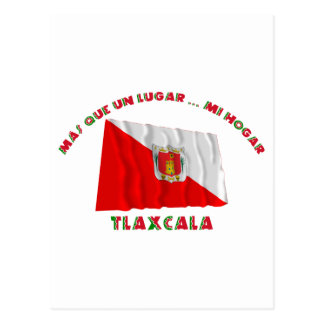 Carte Postale L'ONU Lugar… MI Hogar d'État de Tlaxcala - de Más