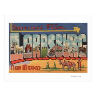 Carte Postale Lordsburg, Nouveau Mexique - grandes scènes de