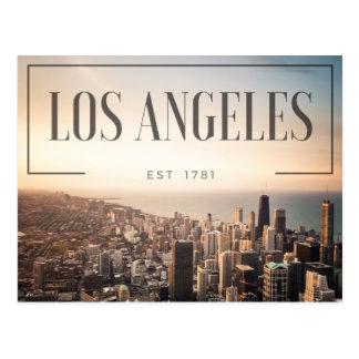 Carte Postale Los Angeles - est 1781