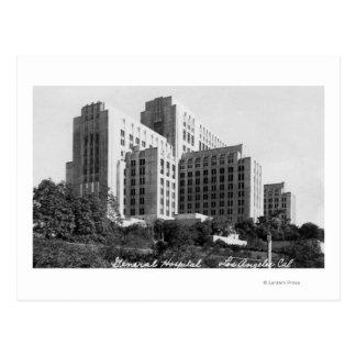 Carte Postale Los Angeles, vue de CA d'Hôpital Général