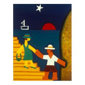 Carte Postale Los Papás de Olivia 2005