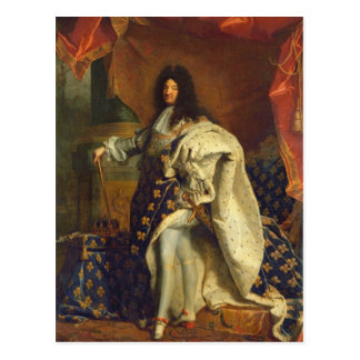Carte Postale Louis XIV dans le costume royal, 1701