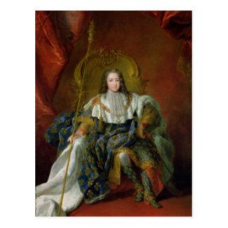 Carte Postale Louis XV 1723