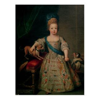 Carte Postale Louis XV en tant qu'enfant, 1714