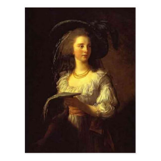 Carte Postale Louise Elisabeth Vigee - duchesse de Polignac