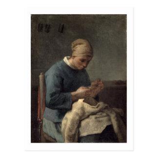 Carte Postale L'ouvrière couturière