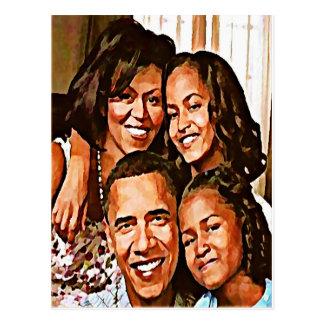 Carte Postale Love_ d'Obama