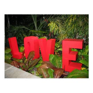 Carte Postale LOVEworks au jardin botanique VA riche de Lewis