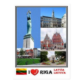 Carte Postale LT Lettonie Lietuva - Riga -
