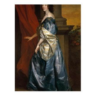Carte Postale Lucy Percy, comtesse de Carlisle c.1637