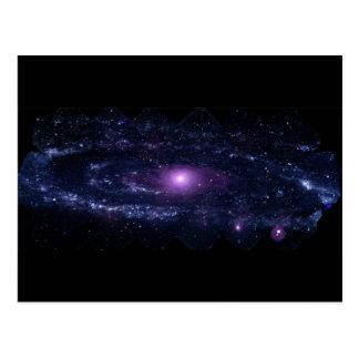 Carte Postale L'ultraviolet d'Andromeda