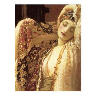 Carte Postale Lumière du harem - seigneur Frederick Leighton