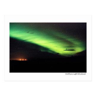 Carte Postale Lumière du nord