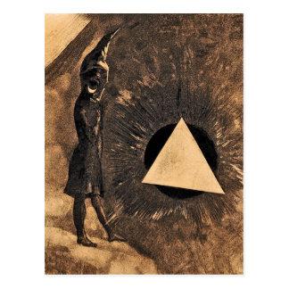 Carte Postale Lumière par Odilon Redon symboliste