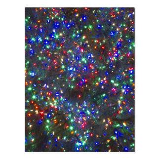 Carte Postale Lumières de Noël, Portland, Orégon