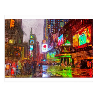 Carte Postale Lumières de Times Square