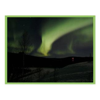 Carte Postale Lumières du nord