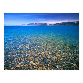 Carte Postale L'UTAH. LES Etats-Unis. L'eau claire du lac bear