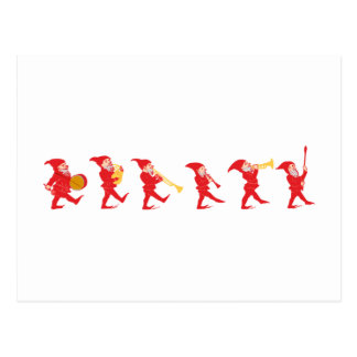 Carte Postale Lutins Gnome imps goblins gnomes
