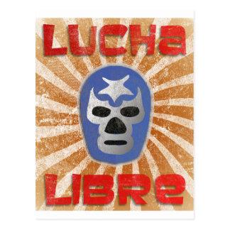 Carte Postale Lutte mexicaine de Lucha Libre