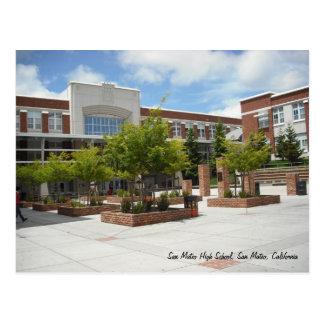 Carte Postale Lycée de San Mateo
