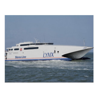 Carte Postale Lynx, catamaran, ferry