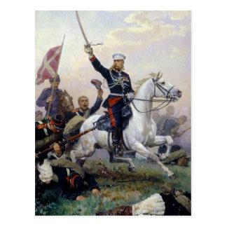 Carte Postale M.D. Skobelev général dans le Russe-Turc