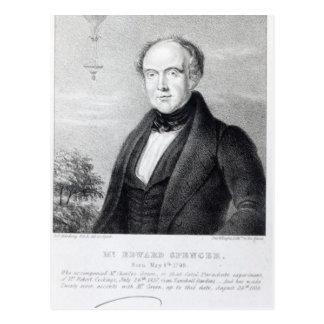 Carte Postale M. Edouard Spencer, lithographie par jour et Haghe