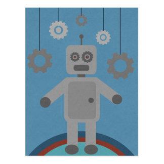 Carte Postale M. Robot