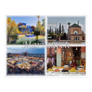 Carte Postale MA Maroc - Marrakech -