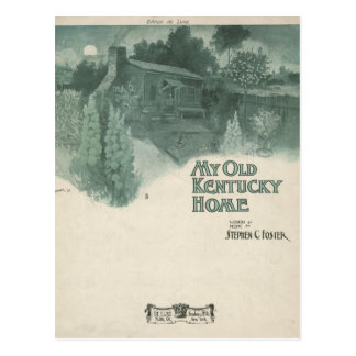 Carte Postale Ma vieille maison du Kentucky