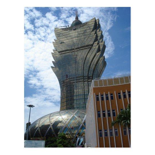 Carte Postale Macau - Grand Lisboa - Skyscraper
