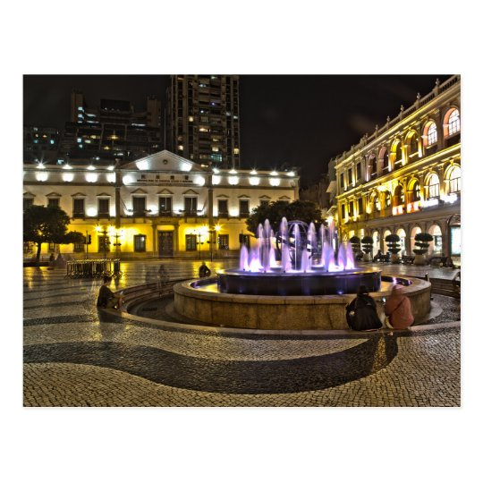 Carte Postale Macau - Senado Square