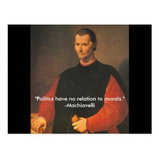 Carte Postale Machiavel 2