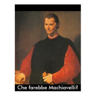 Carte Postale Machiavel 4