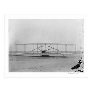 Carte Postale Machine des frères 1903 de Wright (vue de face)