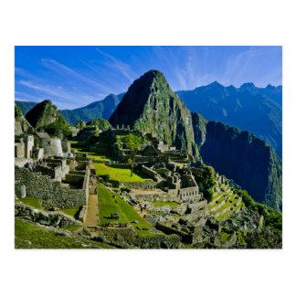 Carte Postale Machu antique Picchu, dernier refuge des 2