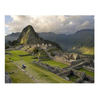 Carte Postale Machu Picchu, ruines antiques, monde de l'UNESCO