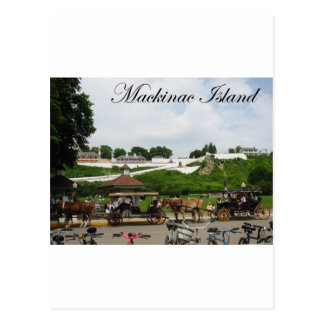 Carte Postale Mackinac