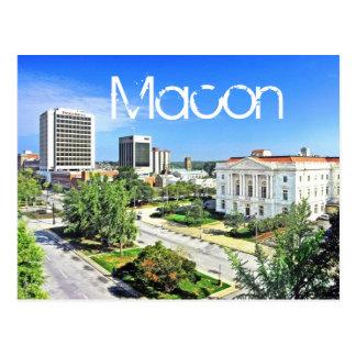 Carte Postale Macon, la Géorgie, Etats-Unis