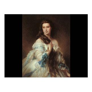 Carte Postale Madame Barbe de Rimsky-Korsakov